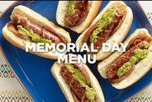 Memorial Day Menu / Kick off the summer season with good friends and these tasty recipes / by Jennie-O®