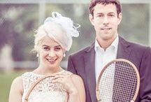 Vintage Tennis Wedding Ideas / Vintage Tennis Wedding Ideas