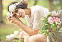 Rustic Vintage Woodland Wedding Inspiration / Rustic Vintage Woodland Wedding Inspiration