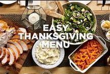 Easy Thanksgiving Menu / Featuring no-fuss ingredients and semi-homemade recipes, this menu makes hosting easy. / by Jennie-O®