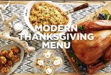 Modern Thanksgiving Menu / We've updated traditional favorites to give them some modern-day wow factor.