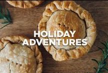 Holiday Adventures / Recipes, adventures and inspiration for the holidays with blogger Molly Yeh.