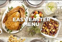 Easy Easter Menu / This deliciously simple Easter dinner menu lets you relax and enjoy the day.