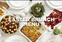 Easter Brunch Menu / Brunch is trending this year, and this menu just might be the reason why.