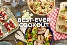Best-Ever Grilling Menu / It doesn't get better than an easy, flavor-packed menu for summer grilling. Try it for July 4th or Memorial Day! / by Jennie-O®