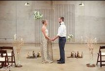 An Industrial Themed Styled Wedding Shoot / Ideas for an industrial themed #wedding in a warehouse