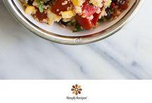 Quinoa Recipes / by Heather Leffler