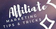 Affiliate Marketing / Affiliate marketing for Pinterest and Blogging. Make money online.