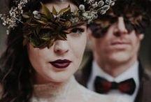 Hauntingly Romantic Autumn Wedding Inspiration