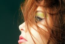 """radiant REDHEADS / """"It's a mistake you always make, trying to love a wild thing"""" / by Chelle M."""