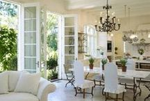 Home- Provencal, Shabby Chic, Ideas / by Karen Mayer