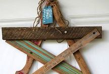 Wood projects & Wire Crafts & things...