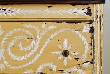 Paint, Stain, mod-podge & Transfering ideas & tips