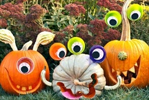 Halloween / Hey girls!  Feel free to make ANY of these for Friday!   I've had too much fun pinning.  I'm gonna make the deviled eggs, the sweet potato pumpkin fries and a good artichoke dip.  D's making jello shots...