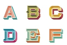 typography alphabets / Alphabets and fonts from A-Z but very awesome. / by Typostrate Blog