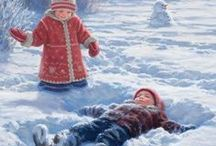 Winter / Snow / by Duygu Küçer Yilmaz
