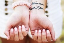 Tattoos / by Maddie Williams