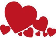 Vinilos San Valentín / Vinilos y pegatinas con corazones para el día de los enamorados