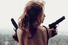 """PISTOL packing princess / """"A gun is like a women, it's all about how you hold her"""""""