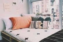 Dorm Decor / who said sharing a bedroom is a bad thing! team up with your roommate and make your room the place to be!