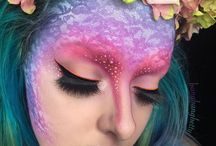 Cosmetic Rainbow / [Specially Curated by Princess Sparkle Hooves] Her makeup brings all the stallions to the yard... #Sparkle #Glitter #Rainbow #SparkleMakeup #GlitterMakeup #UnicornMakeup