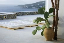 Dream Home / Give me white washed walls and Mediterranean Sea views.