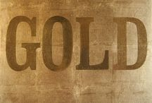 gold / by Benja Kinate