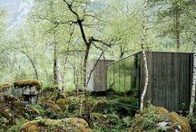 Architecture | House & landscape / Living inside the surrounding landscape