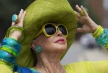 Advanced style / Great senior fashionable ladies who inspire younger people