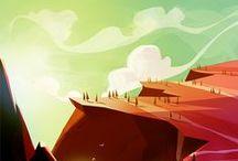 2D Environment - Cartoon