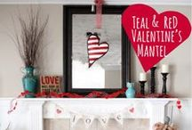 Valentines Day Decor / by Kate, Chic on a Shoestring Decorating