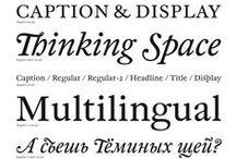 Type / Typefaces & Typography