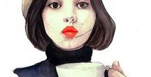 Fashion illustrations / Fashion illustration by Pinodesk and others