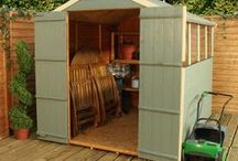 Garden Sheds / A collection of Waltons Garden Sheds. Sheds are not just for storage; they make great #hobby rooms or #workshops!