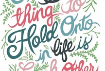 Things To Live By / by Jade Newman