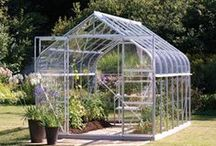 Get Growing / A collection of Waltons Greenhouses. Greenhouses are perfect for growing! #greenhouses #GYO #growing #gardening