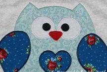owls - the marga lund quilt / vill Ni veta någonting... så fråga Ugglan - en sång i min barndom / by Carina (The Marga Lund Quilt.se)