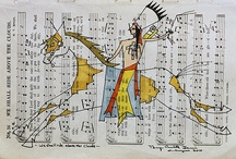 Native American Ledger Art