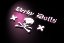 """Roller Derby Graphics / Derby Dolls and Competitors """"Derby Dolls"""" #rollerderby #hotrods #carculture #burlesque"""