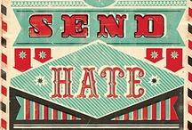 We Love Typography / Sobre fontes, nossa paixão!