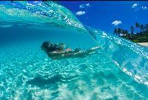 Surf, Ocean + Waves