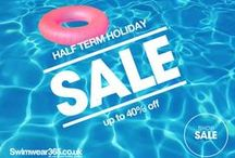 Half Term Holiday SALE / Shop our Half Term sale for great savings with up to 40% off on Men's and Women's holiday fashion! We have selected some of our sale favourites, you can find many more here > http://www.swimwear365.co.uk/sale/_/N-1z141tkZ1c / by Swimwear365