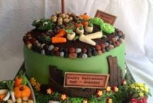Shed Cakes / Know someone who is gardening mad? Why not celebrate an occasion with a fantastic garden or shed cake.
