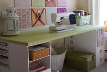 Garden Craft Room Ideas / Inspiration & Ideas for creating your own crafting or sewing room. No space in your home? Make a room in your garden!
