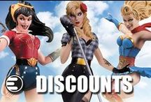 Discounts, Coupons, & More / by Entertainment Earth