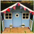 The Playhouse Project / We sent 5 bloggers a Waltons 6'5 x 5'6 Playhouse and set them the task of decorating it with a budget of £50! Take a look at the stunning results and take inspiration for your next project.
