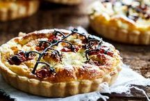 Tarts & Quiches / Food / by Jeanne Trudeau