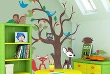 Log Cabin Playroom Inspiration / Walton's Log Cabins lend themselves perfectly to a outdoor playroom. Here is some inspiration to get the creative juices flowing