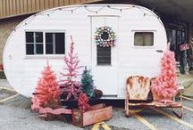 Dreaming of a Camper / Love vintage campers - hope to have one someday.   Follow my dreams at: http://lifeatcoralcottage.com