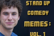 Stand Up Comedy Memeshots / #standupcomedy #comedy #humor #joke #meme / by Max Goldberg